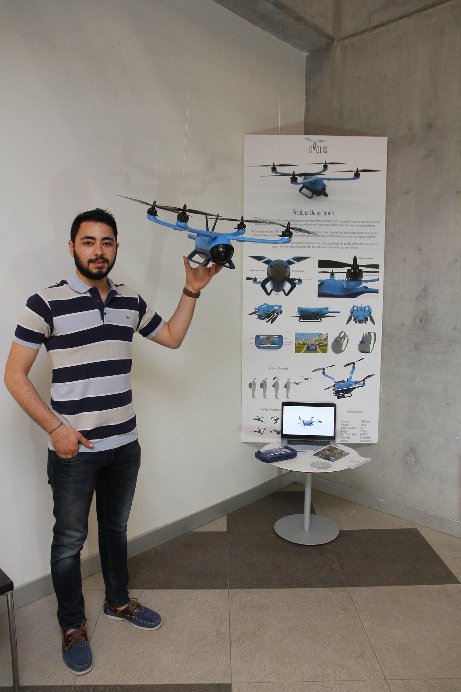 POLİSLER İÇİN ÖZEL DRONE